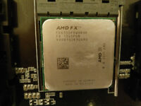 AMD Six-Core Processor CPU and Motherboard