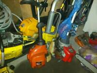 Wanted broken strimmers chainsaws and hedge cutters