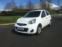 """2016 NISSAN MICRA VIBE 1.2 PETROL 5DR """"LOOKS AND DRIVES LIKE NEW + MUST BE SEEN AND DRIVEN"""""""