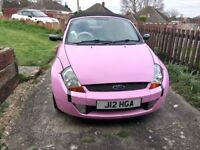 **REDUCED FROM £750 ** PINK FORD STREETKA - Luxury 1.6