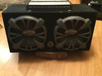 Sub woofer, with amp and cd deck for sale