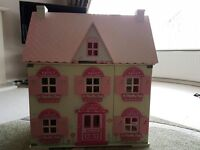 ELC Rosebud Cottage and Accessories