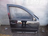 PORSCHE CAYENNE 2002-2010 Black O/S REAR RIGHT DRIVER SIDE DOOR COMPLETE IG/N5