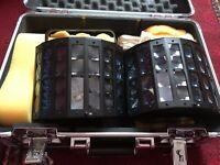 kam lights twin flight case