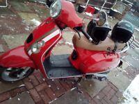 125cc baotian menza moped perfectly working