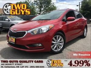 2014 Kia Forte 1.8L LX+ SUNROOF | AUTO| HEATED FRONT SEATS