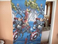 AVENGERS SINGLE QUILT COVER AND PILLOW CASE (REVERSABLE)
