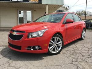 2012 Chevrolet Cruze LT Turbo RS MODEL SUNROOF BIG MAGS