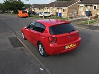 BMW 1 Series F20 Diesel Red