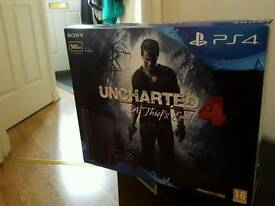 Sony PlayStation 4 PS4 500GB with Uncharted 4 Bundle - BRAND NEW SLIM
