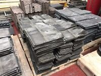 """Approximately 800 Reclaimed Roofing Slates - Good Condition 16"""" x 8"""""""
