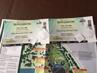 ** PHIL COLLINS HYDE PARK ** x2 30th June £55 each