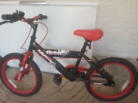 Rebel Huffy 18 inch bike