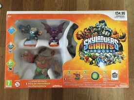 Skylanders Swap Force and Giants Bundle plus 4 extra characters. Boxed and in excellent condition.