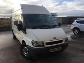 Transit 55 crew van lwb hightop Camper race van reduced price!!
