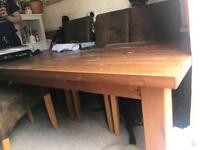 6-8 seater dining table