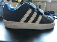 Boys Adidas infant trainers size 5