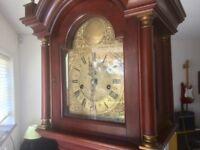 Beautiful Elegant Longcase Grandfather Grandmother Clock
