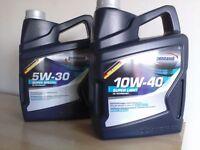ENGINE OIL FOR SALE , CAR / VAN / PETROL / DIESEL ,10w-40 / 5w-30 pennasol