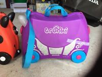 Two good condition Trunki suitcases