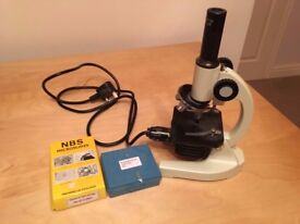 Microscope with Slides