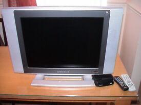 LCD TV Daewoo model DLP-20D3N + FREE Freeview box.