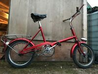 CLASSIC RALEIGH RSW 16 BIKE (BICYCLE BARN FIND)