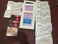 11 x Clip frames