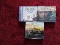 AUDIO BOOKS BY PATRICK O'BRIAN & JOSEPH O'CONNOR