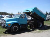 1996 Ford F750 - Salter/dump box