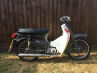 Honda c50 with Honda c90 engine (undeclared)