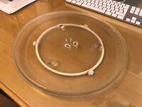 Panasonic Microwave Turntable Plate and wheels