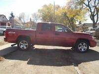 2007 Dodge Dakota SLT CREW CAB 4X4 LEATHER SUNROOF LOADED MINT T
