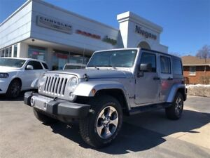 2016 Jeep WRANGLER UNLIMITED SAHARA,LEATHER,NAV,DUAL TOPS