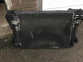 Seat Leon mk2 radiator and air con radiator