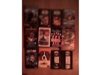 Collection of 12 VHS Video Tapes (See Description for Titles)