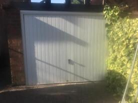 Electric garage door.Up and over, with remote control. (Pick up from Nottingham )