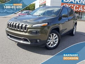 2015 Jeep Cherokee Limited + NAVIGATION + 4X4 + CUIR