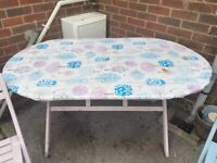 Garden table and 6 chairs FREE TO COLLECT