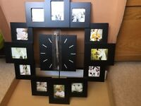 **Black Picture Clock**