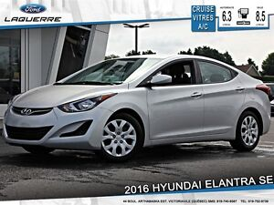 2016 Hyundai Elantra **SE*AUTOMATIQUE*CRUISE*A/C**