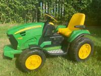Children's John Deere Groundforce Tractor