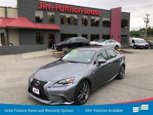 2014 Lexus IS 350 F SPORT w/premium