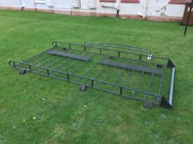 Roof Rack with Ladder Fiat DUCATO Citroen RELAY Peugeot BOXER