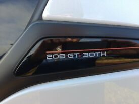 Peugeot 208 gti 30th limited edition for sale.