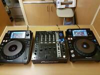 XDJ1000 (X2) DJM750 WITH BOXES LIKE NEW
