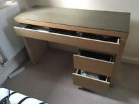 IKEA Desk/Dresser Table & Set of 2 Drawers