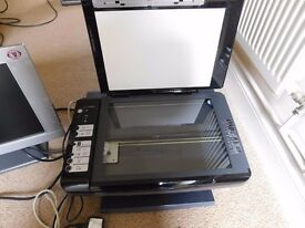 Epson Stylus DX7450 working Printer,scanner & copier with cables,inks & set up disc