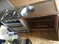 SINK AND COOKER UNIT WITH GRILL