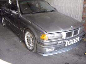 BMW 325 TD in metallic paintwork
